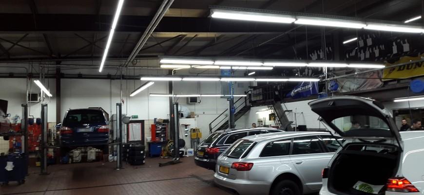 Luxembourg, Eclairage atelier auto