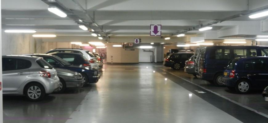 Versailles, Parking sous terrain